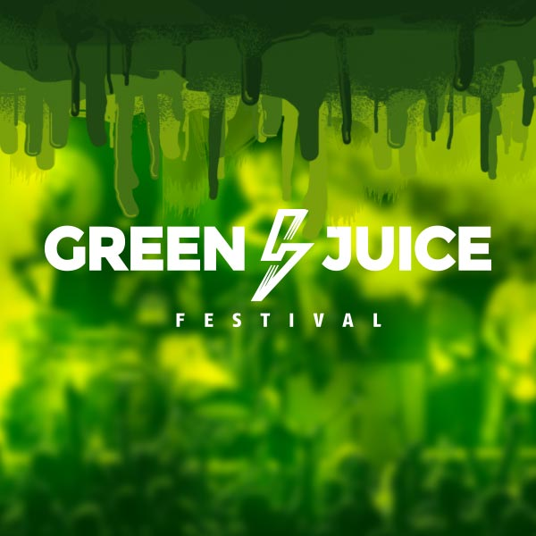 Festivaldesign für Green Juice