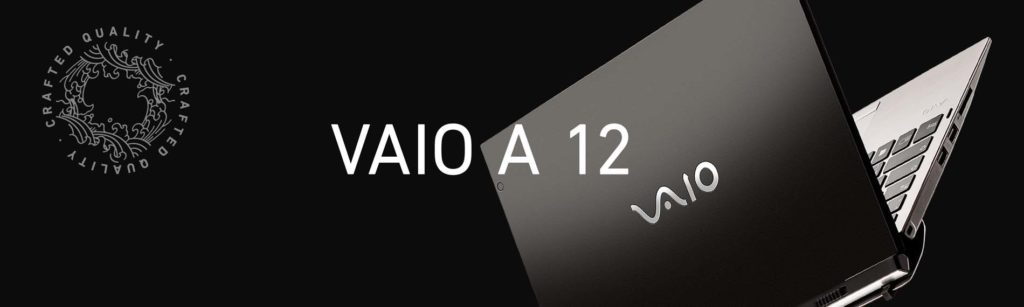 VAIO A12 Laptop Rendering